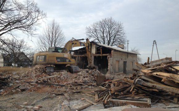Rozbiórka budynków i budowli na terenie województwa łódźkiego