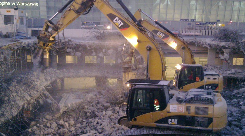 rozbiórka parkingu lotniska warszawa grupa tree (4)