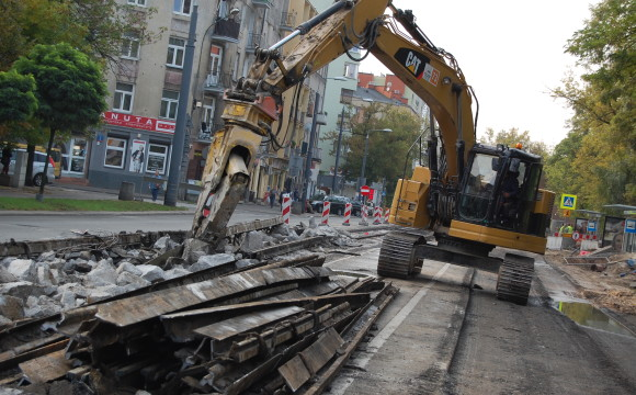 """Rozbiórki w ramach """"Przebudowy trasy tramwajowej na odcinku Dworzec Wileński – Żerań Wschodni"""""""