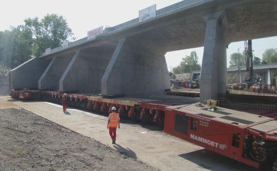 Betonowy kolos, czyli transport tunelu TK-2