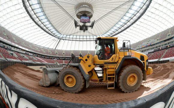 Budowa toru żużlowego na Stadionie Narodowym – GRAND PRIX POLSKA