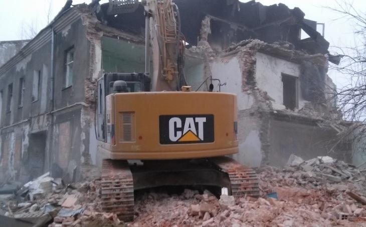 Rozbiórka budynków zlokalizowanych przy ul. Nadarzyńskiej w Piasecznie - Grupa TREE