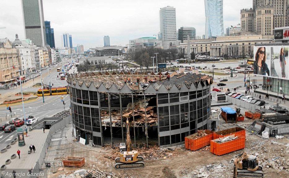 Rozbiórka Rotundy w Warszawie - Grupa TREE fot. Agencja Gazeta