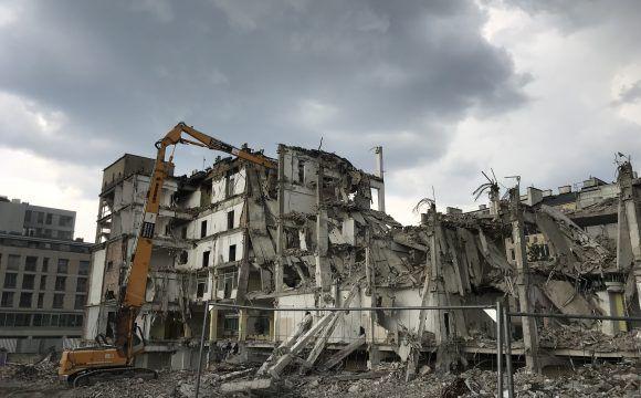 Rozbiórka budynków na terenie Nieruchomości zlokalizowanej przy ul. Miedzianej 11/Pańskiej 97 w Warszawie